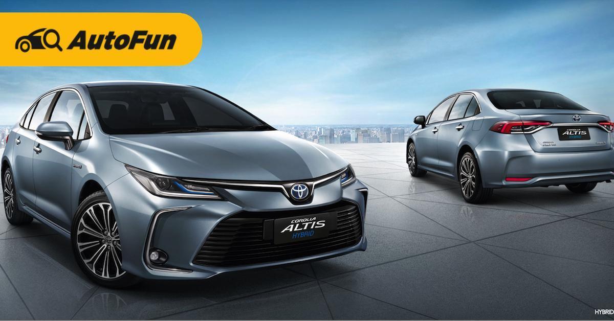 ส่องข้อดีข้อด้อย Toyota Corolla Altis Hybrid ก่อนตัดสินใจเป็นเจ้าของ 01