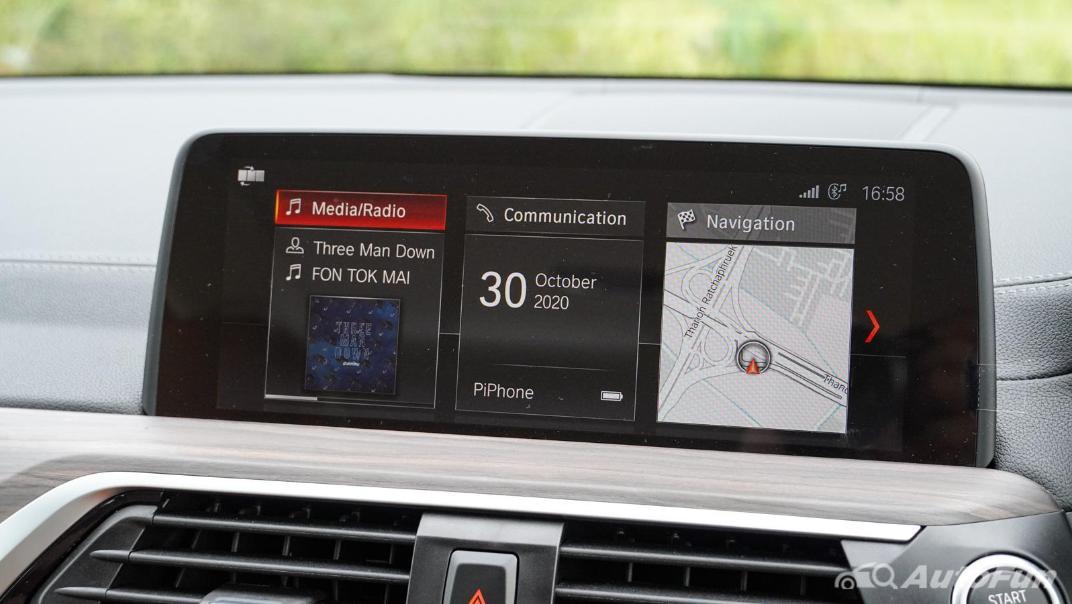 2020 2.0 BMW X3 xDrive20d M Sport Interior 020