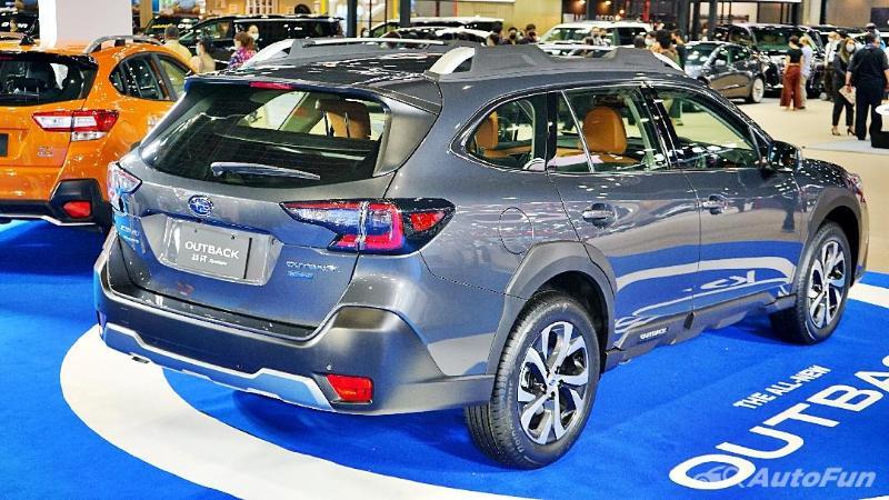 2021 Subaru Outback โดนรถโฟล์คแซวเพราะเป็นแบรนด์ที่ไม่มีรถไฟฟ้าล้วน 02