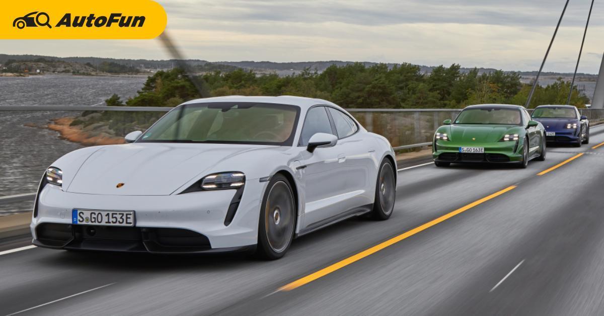 Porsche Taycann ขึ้นแท่นซีดานขายดีที่สุดในออสเตรเลีย แซงทั้ง Mercedes-Benz และ BMW 01