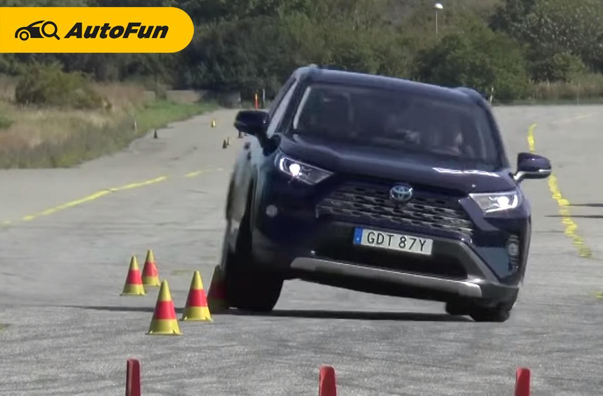 ทำไม Toyota มักสอบตกการทดสอบหักเลี้ยวหลบกะทันหัน (Moose test) และมันน่าเชื่อถือหรือไม่? 01