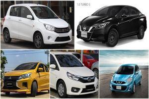 รวม 5 รถป้ายแดงราคาถูกสุดในไทย มีเงิน 3 แสน ก็ซื้อได้