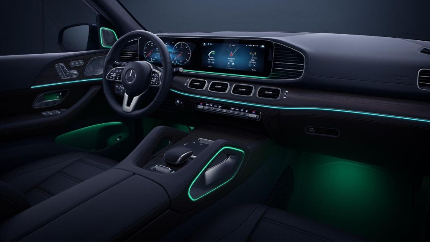 Mercedes-Benz GLE-Class 2020 Interior 013