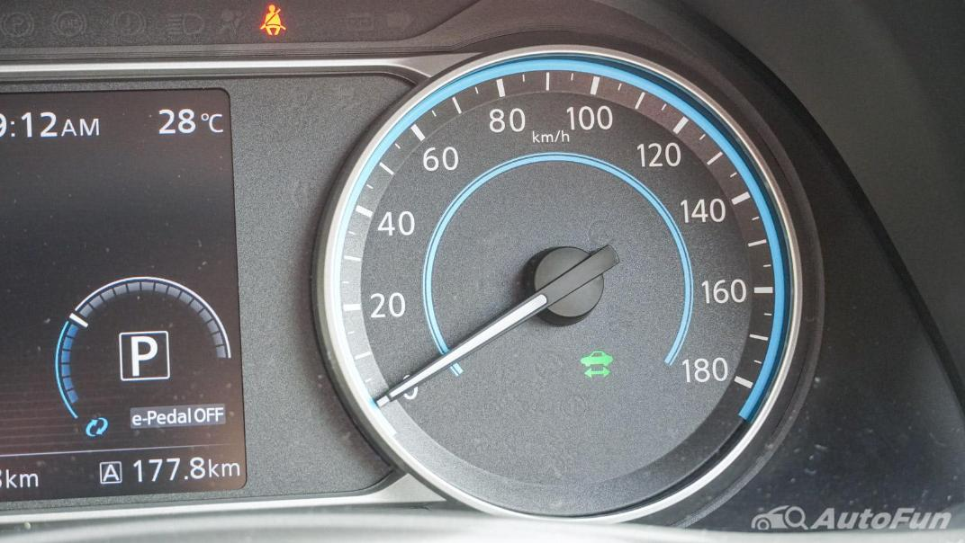 2020 Nissan Leaf Electric Interior 005