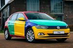 VW Polo Harlequin รถสีรุ้งในตำนานกลับมาแล้ว! จดทะเบียนสีอะไรละนี่?