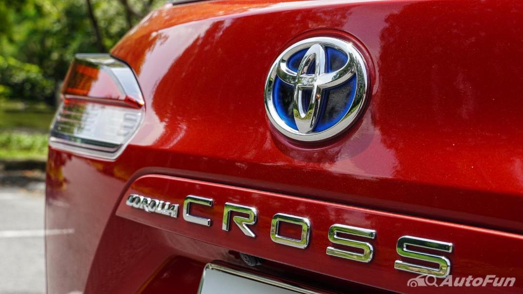 2020 Toyota Corolla Cross 1.8 Hybrid Premium Safety Exterior 024