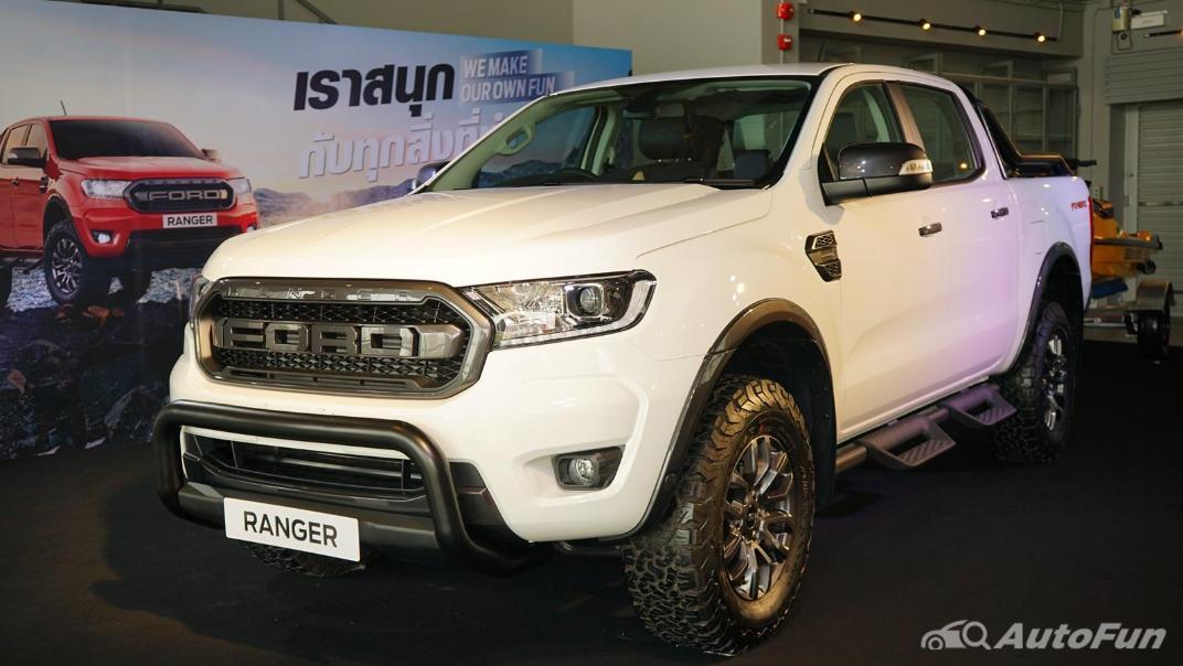2021 Ford Ranger FX4 MAX Exterior 001