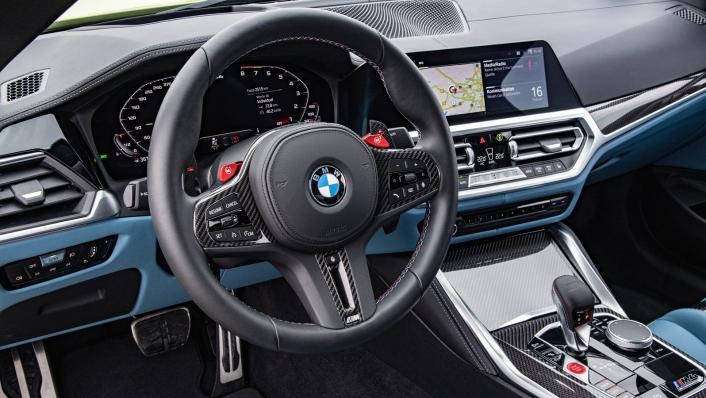 2021 BMW M4 Coupe Competition Interior 002
