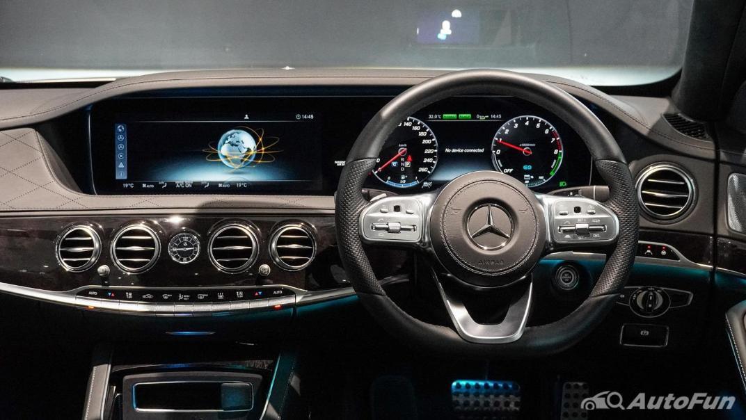 Mercedes-Benz S-Class S 560 e AMG Premium Interior 002