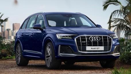 2021 Audi Q7 3.0 45 TDI Quattro S line ราคารถ, รีวิว, สเปค, รูปภาพรถในประเทศไทย | AutoFun