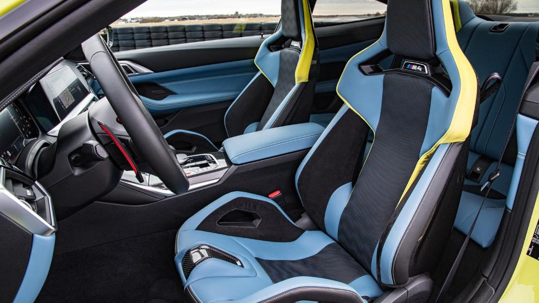 2021 BMW M4 Coupe Competition Interior 005