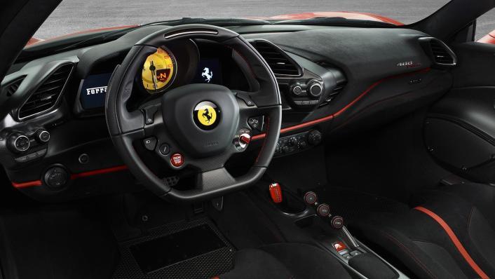 2020 Ferrari 488 Pista 3.9 V8 Interior 003
