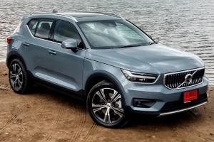 2021 Volvo XC40 T5 Recharge Inscription ครอสโอเวอร์เสียบปลั๊ก ค่าตัว 2.39 ล้านบาท ขับสนุก อุปกรณ์-ระบบครบ