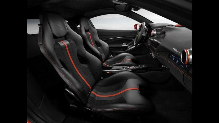 2020 Ferrari F8 Tributo 3.9 V8 Interior 003