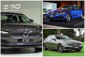 อยากเป็นเจ้าของ Luxury Business Sedan อย่าง BMW, Mercedes Benz, Volvo ต้องผ่อนเดือนละเท่าไรนะ