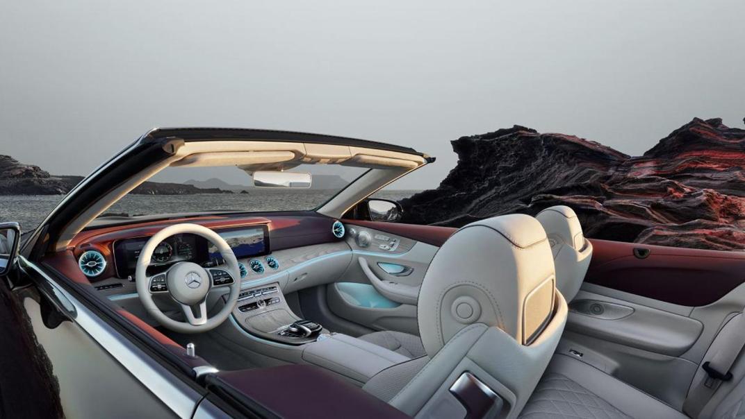 Mercedes-Benz E-Class Cabriolet 2020 Interior 002