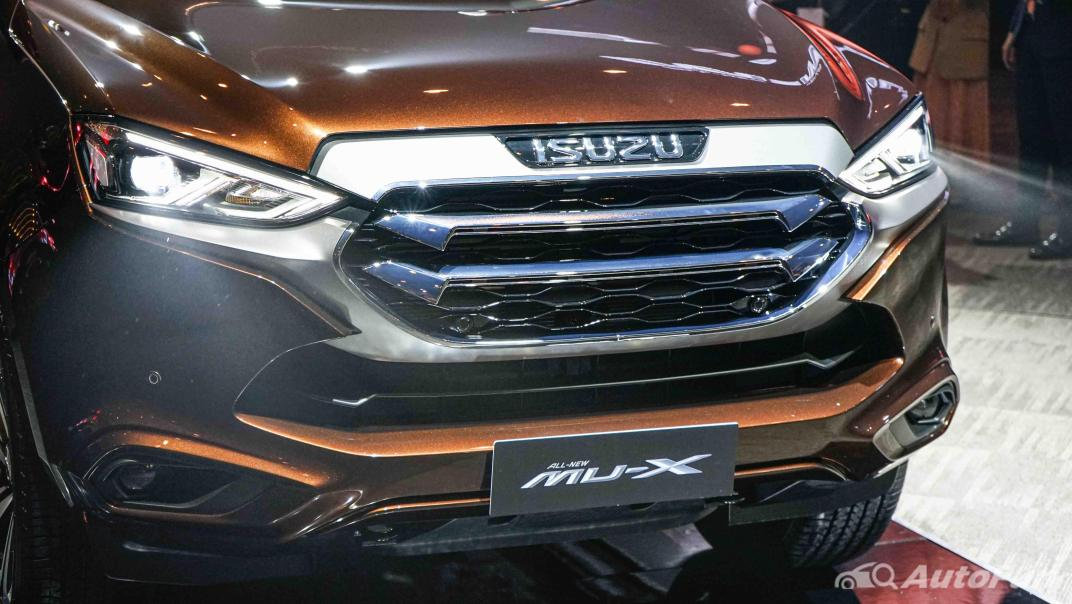 2021 Isuzu MU-X Ultimate 3.0 AT 4x4 Exterior 067
