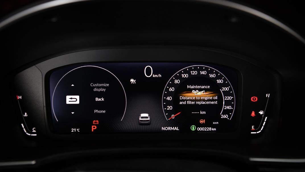 2022 Honda Civic RS Interior 021