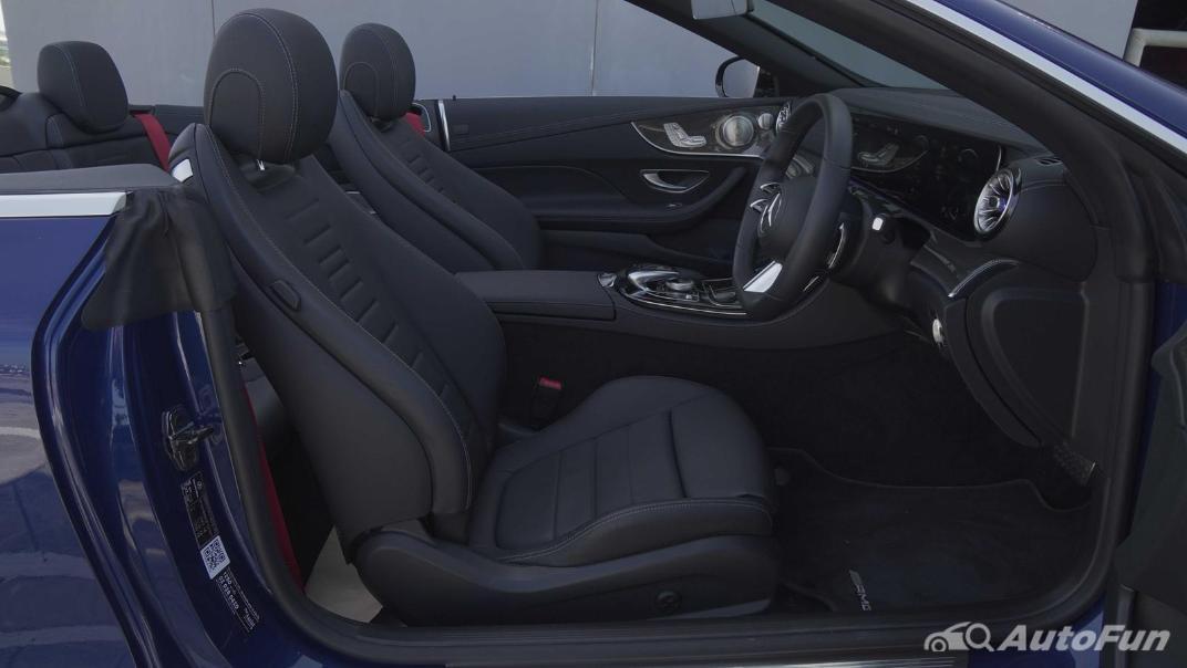 2021 Mercedes-Benz E-Class Cabriolet E 200 AMG Dynamic Interior 035