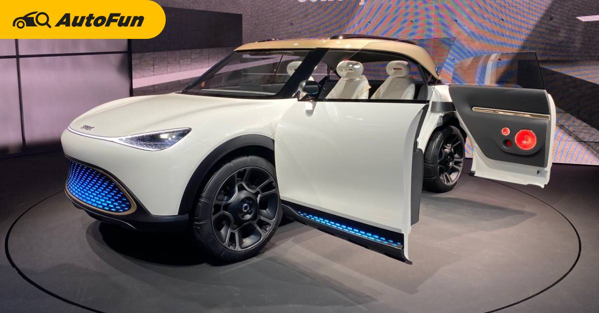 2022 Smart Concept #1 ทำโดย Geely ออกแบบที่ Mercedes-Benz แข่งกับ Volvo XC40 Recharge 01