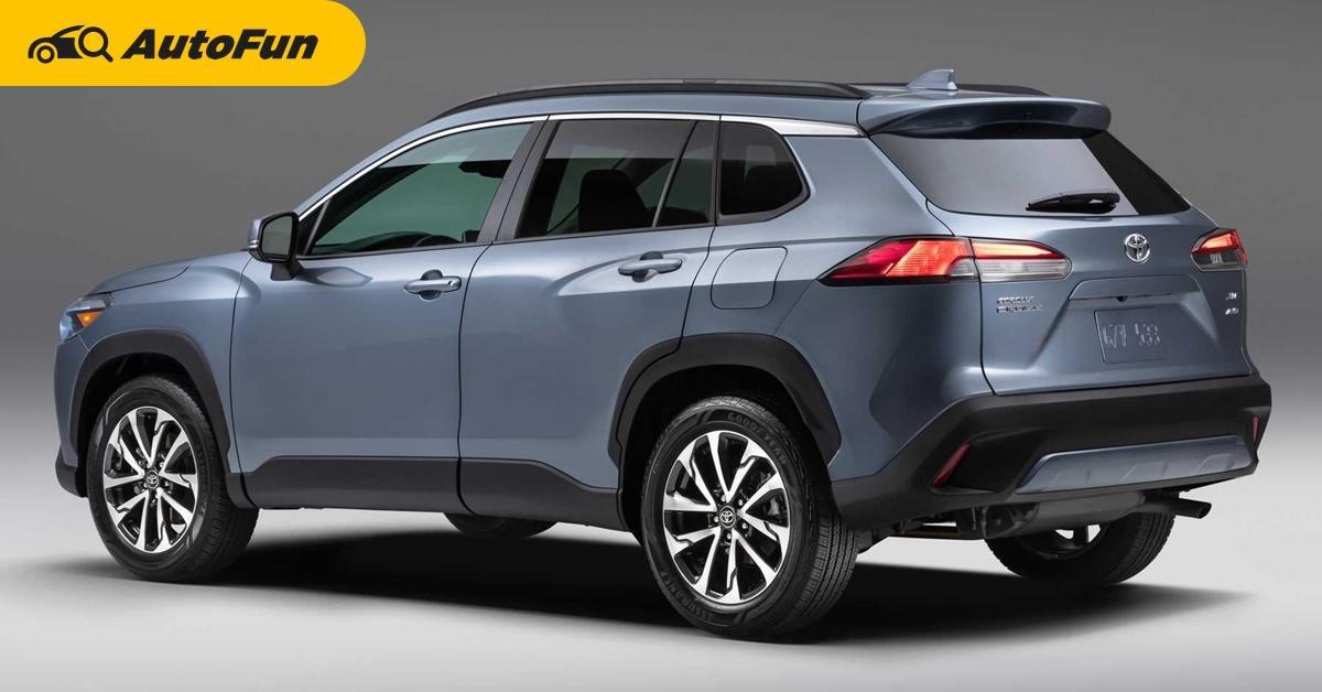 เปิดสเปก 2021 Toyota Corolla Cross เวอร์ชั่นอเมริกัน เครื่องแรงกว่าไทย มี AWD พร้อมถุงลม 9 ลูก 01