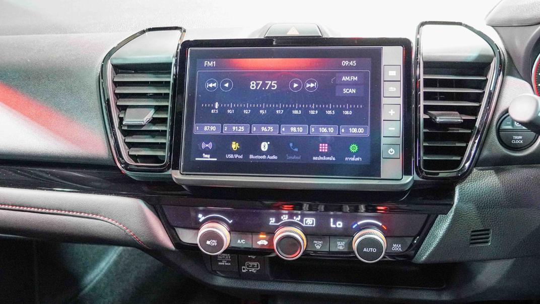 2021 Honda City Hatchback 1.0 Turbo RS Interior 018