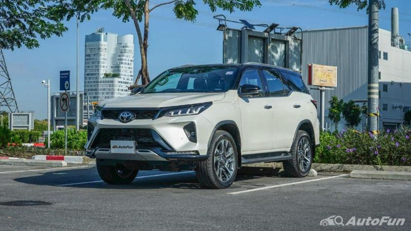 สรุปยอดขาย PPV ไตรมาสแรก Toyota Fortuner นำ 2,588 คัน Isuzu MU-X ทำได้ดีขึ้น 02