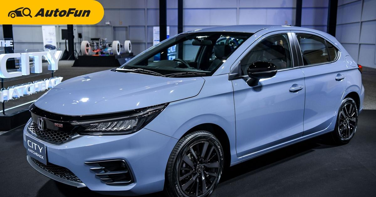 เทียบ 3 รุ่นย่อยของ 2021 Honda City Hatchback ห่างกัน ...