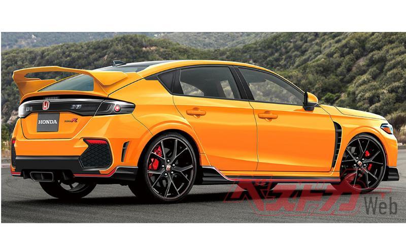 ของมันต้องมี!? 2022 Honda Civic Type R อาจมาพร้อมหน้าตาแบบนี้ 02