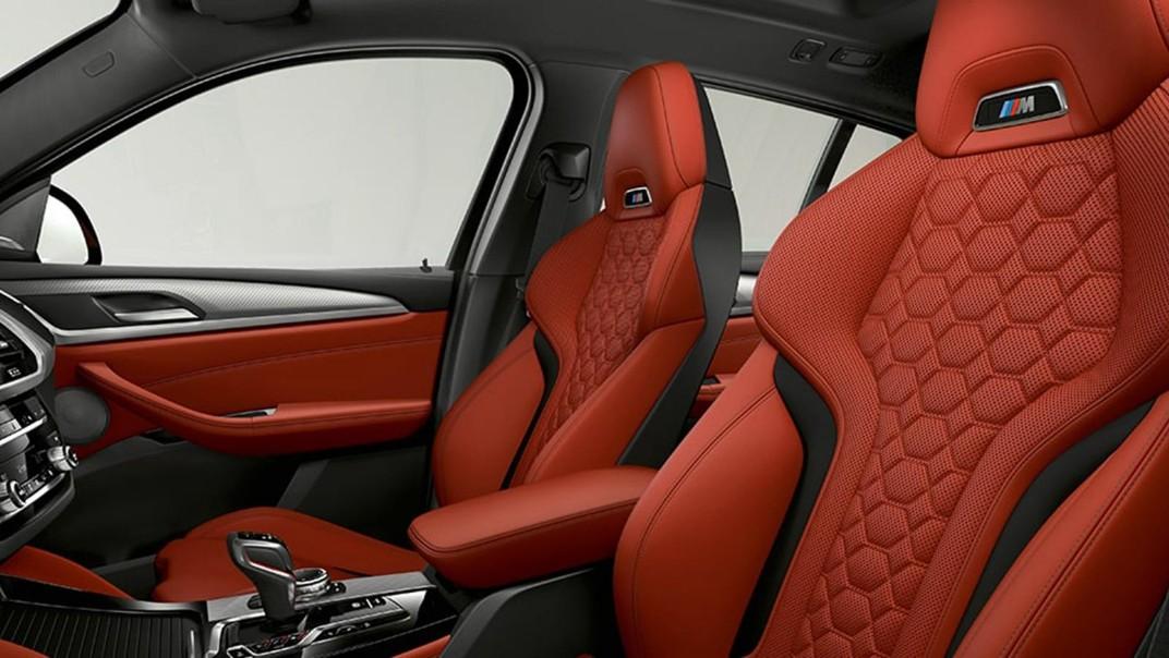 BMW X4-M Public 2020 Interior 009