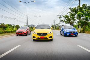 New 2018 MG3 วัดรอยเท้าเจ้าตลาด New 2017 Honda Jazz