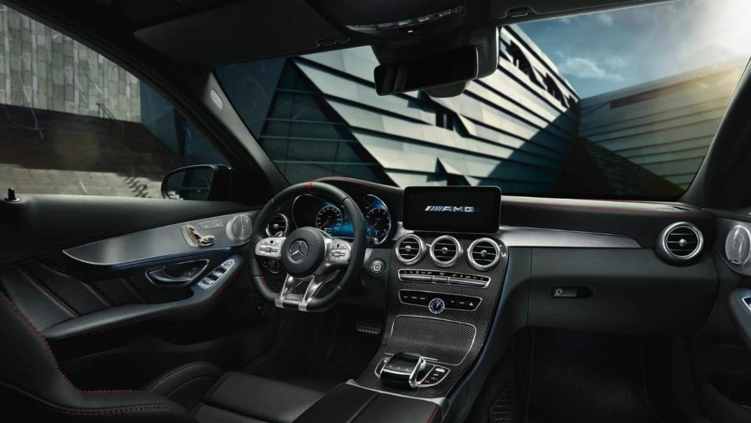 Mercedes-Benz C-Class Saloon 2020 Interior 018