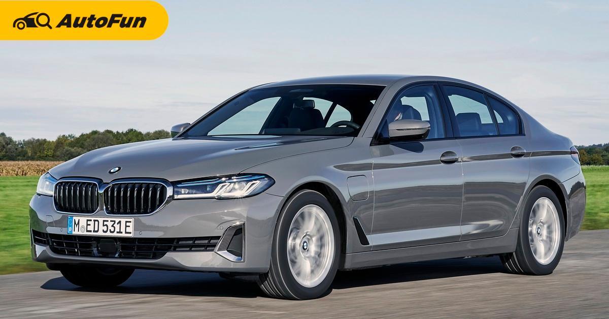 2021 BMW 5-Series LCI รุ่นไมเนอร์เชนจ์เตรียมเปิดตัวในประเทศไทยวันที่ 20 มกราคม 01
