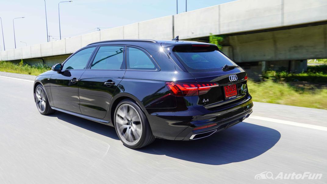 2020 Audi A4 Avant 2.0 45 TFSI Quattro S Line Black Edition Exterior 051