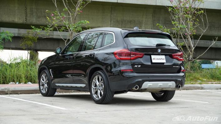 2020 BMW X3 2.0 xDrive20d M Sport Exterior 007