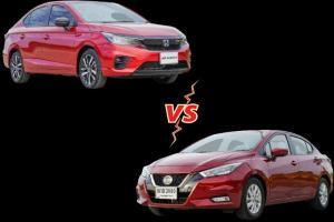 เทียบผ่อนคู่กัด Nissan Almera vs. Honda City ห่างกัน 30,000 ใครคุ้มกว่า ใครผ่อนถูก มาดูเลย