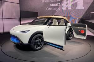 2022 Smart Concept #1 ทำโดย Geely ออกแบบที่ Mercedes-Benz แข่งกับ Volvo XC40 Recharge