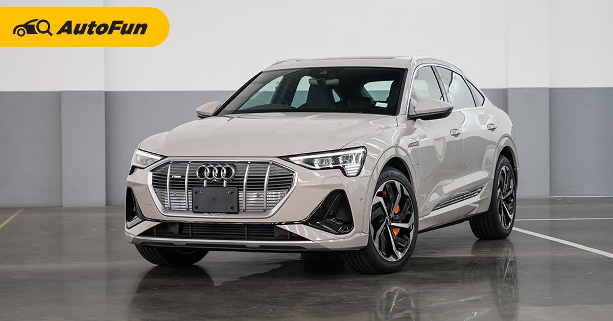 เปิดตัว 2020 Audi e-tron Sportback ค่าตัว 5.299 ล้านบาท จำกัดโควต้า 15 คันในไทย 01