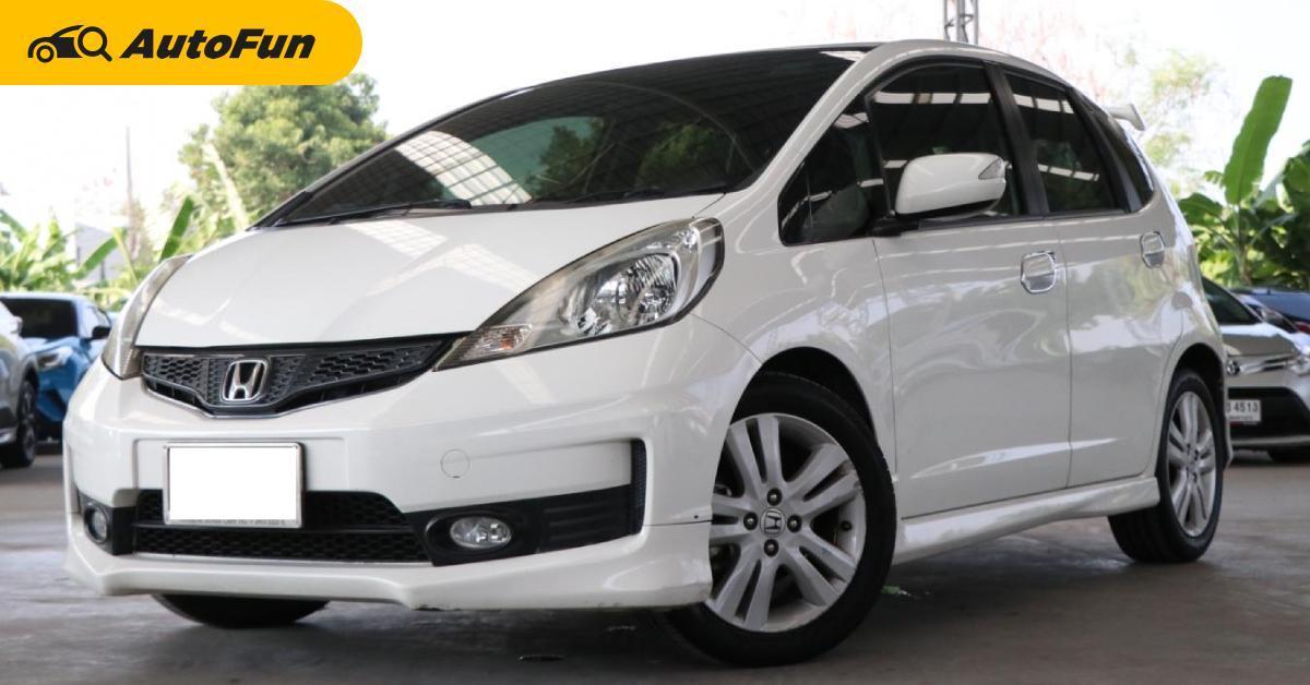 2012 Honda Jazz นำเข้าญี่ปุ่น ออพชั่นดีกว่าไทยในราคา 300,000 กว่าบาทเท่านั้น 01