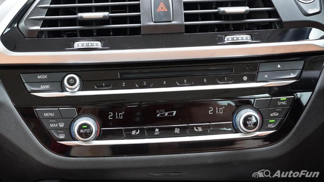 2020 2.0 BMW X3 xDrive20d M Sport Interior 022