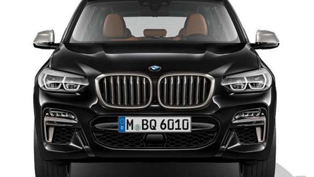 BMW X3-M 2020 Exterior 008