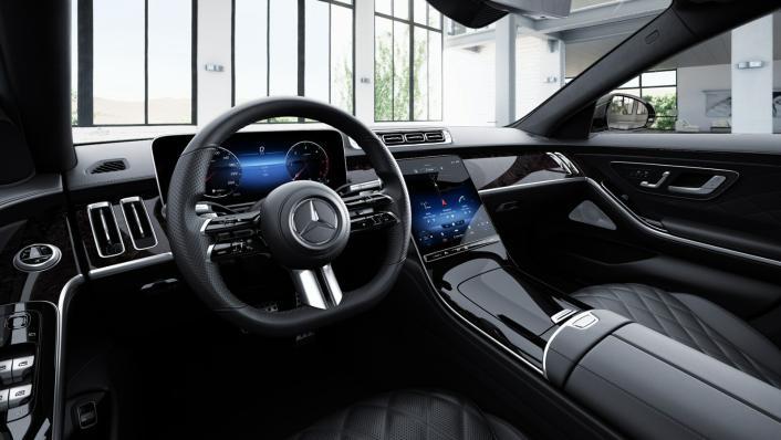 2021 Mercedes-Benz S-Class S 350 d AMG Premium Interior 009