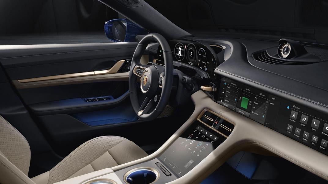 2020 Porsche Taycan Public Interior 003