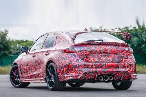ทีเซอร์ 2022 Honda Civic Type R ยังคงใช้ท่อ 3 ชุด ลุ้นขุมพลังโหดขึ้น