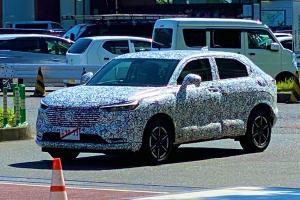 สปายช็อต! 2021 Honda HR-V เจนเนอเรชั่นใหม่ ตัวถังใหญ่โตและภูมิฐานมากขึ้น