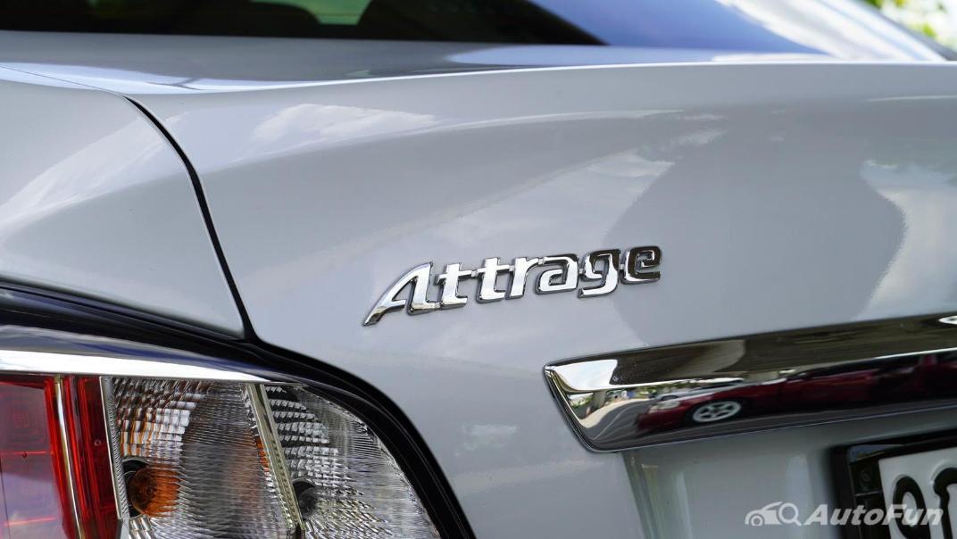 2020 1.2 Mitsubishi Attrage GLS-LTD CVT Exterior 033