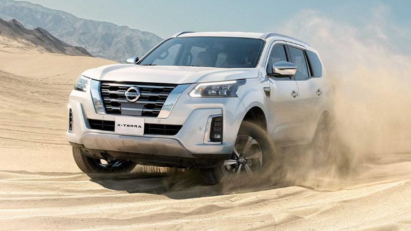 เทียบหน้าตา 2021 Nissan Terra - Mitsubishi Pajero Sport – Ford Everest พีพีวีมวยรอง 02