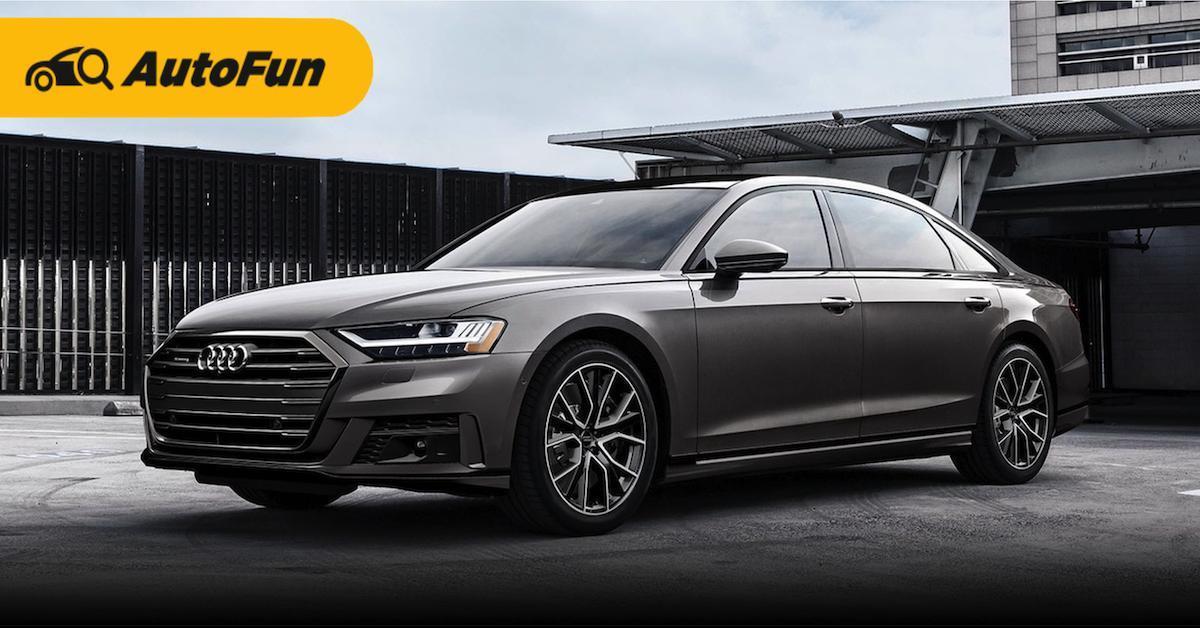 ส่องข้อดีข้อเสีย Audi A8 ซีดานลักชัวรี่สไตล์ผู้นำ 01