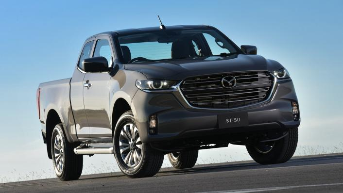 2021 Mazda BT-50 Freestyle cab Upcoming Version Exterior 007