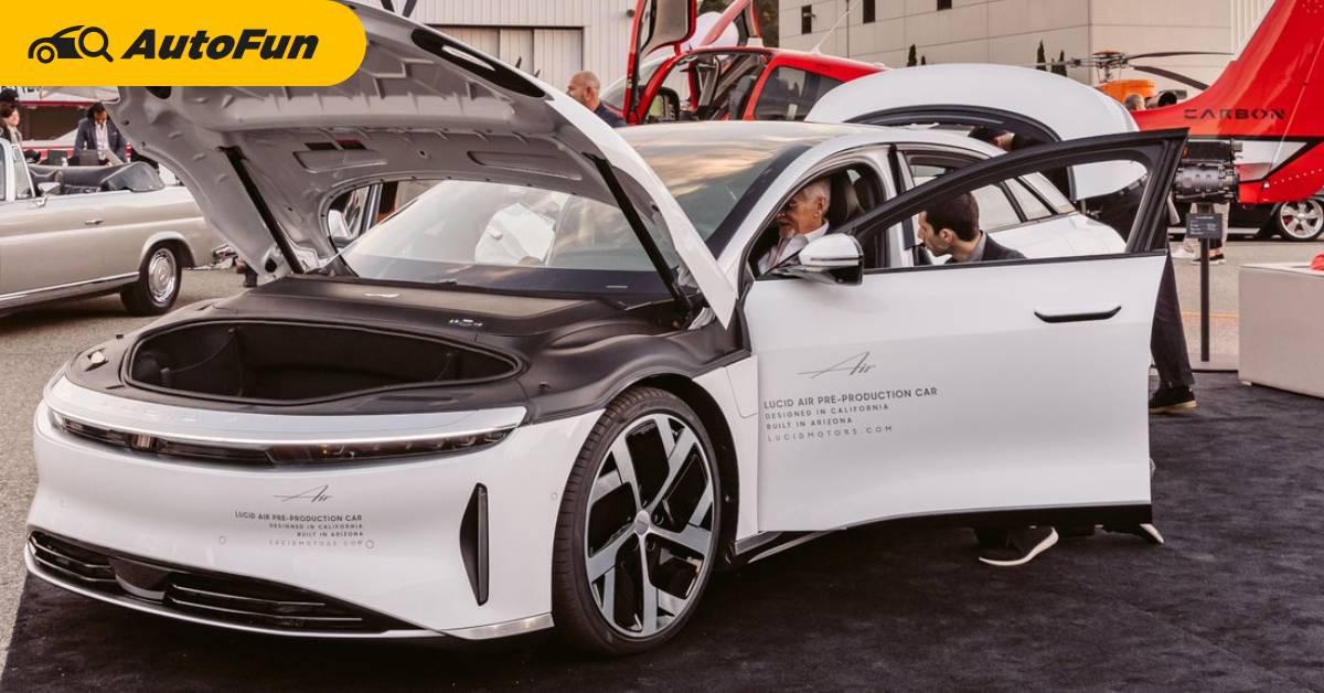 2021 Lucid Air เผยโฉมจริงออกสื่อแล้ว ชื่อเสียงที่โค่น Tesla ทำยอดจองทะลุ 13,000 คัน 01